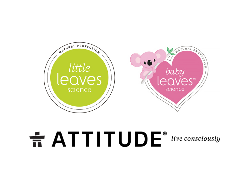 Attitude little and baby leaves